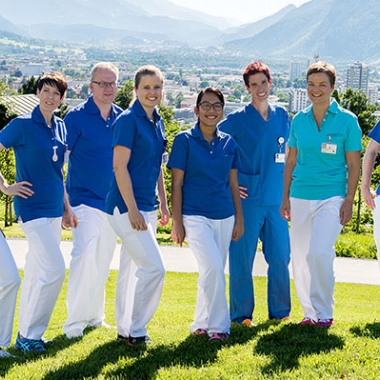 Pflegeberufe am Kantonsspital Graubünden