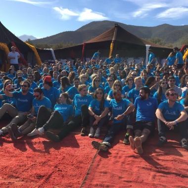 Marrakech-Experience beim jährlichen DoctoWeekend: Alle Doctoliber, 3 Tage... und 1 Kamel!