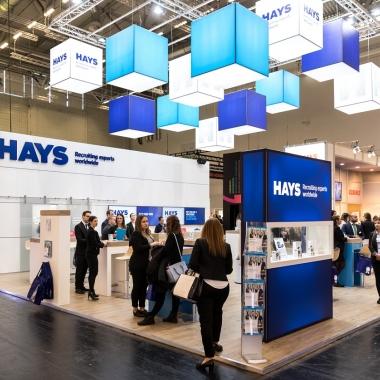 Hays auf dem Deutschen Absolventenkongress in Köln