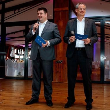 IKOR-Vorstände Lars Ackermann und Sven Geilich