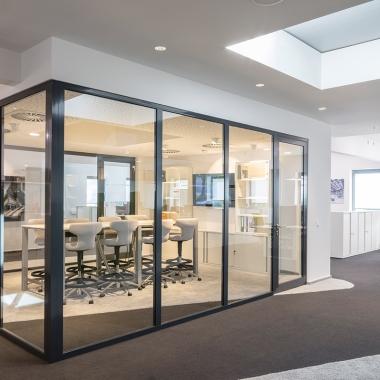 Blick hinter die Kulissen: Unsere neuen Büroräume mit viel Platz für weiteres Wachstum.
