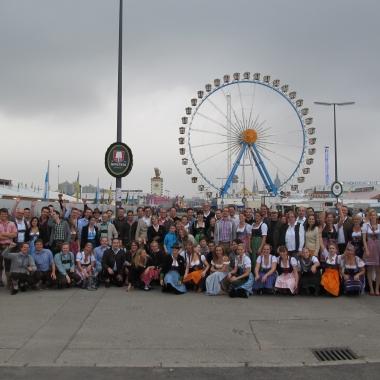 Unser Team auf dem Münchner Oktoberfest