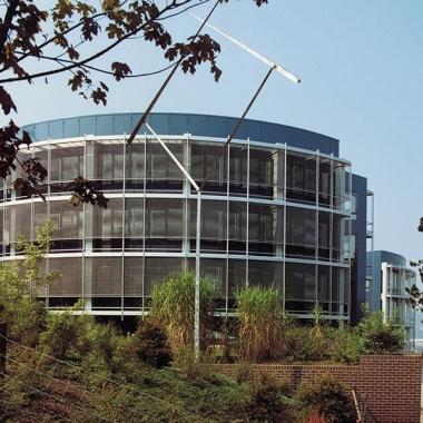 Das Verlagshaus in Stuttgart