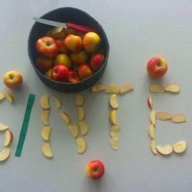 Frische Äpfel für unsere Mitarbeiter/innen.