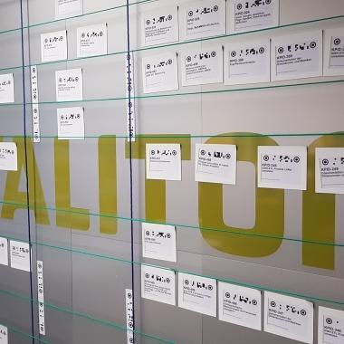 Unser Scrum-Board am Standort München