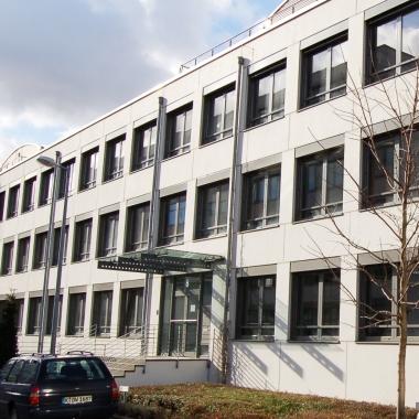 Der seneos Hauptsitz in Köln Braunsfeld