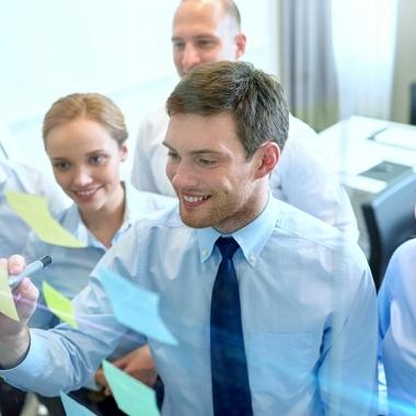 Was uns auszeichnet, ist die Leidenschaft, für unsere Kunden erfolgreich zu sein.