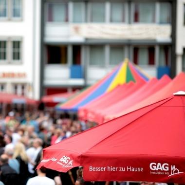 Die GAG kümmert sich pro Jahr um rund 200 eigene und fremde Veranstaltungen in den Siedlungen.