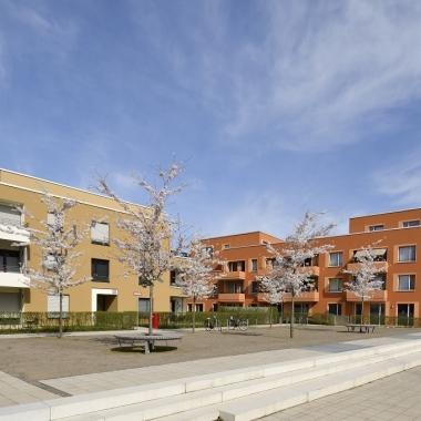 Das Waldbadviertel in Ostheim.