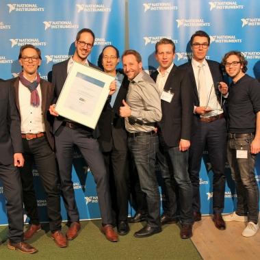 SET wurde ausgezeichnet als National Instruments Alliance Partner of the Year 2018 für Central Europe.