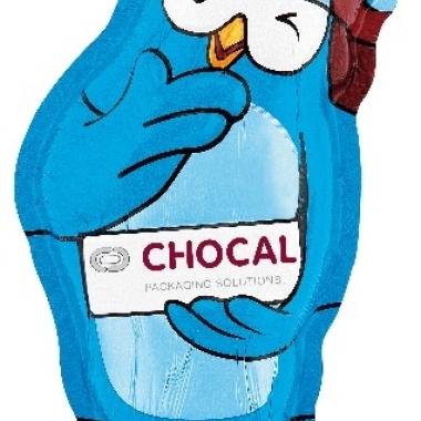 Die perfekte zweite Haut für Schokoladenhohlfiguren.