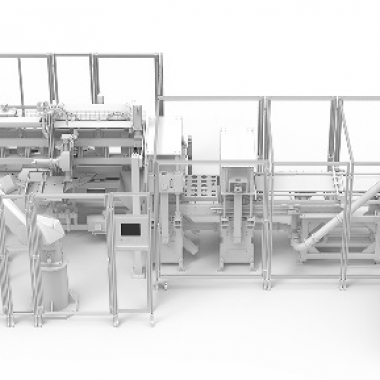 Entwicklung und Herstellung verschiedener Verpackungsmaschinen unterschiedlicher Format- und Leistungsklassen.