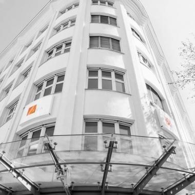 Das Bürogebäude der FMA in zentraler Lage im 9. Wiener Bezirk