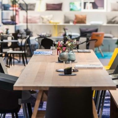 Coworking Lounge am Standort München Nove