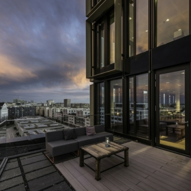 Rooftop Lounge am Standort München Nove