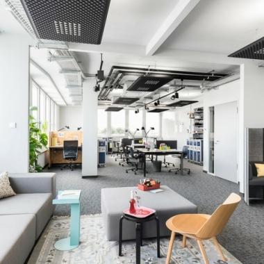 Work Loft am Standort Stuttgart Tower