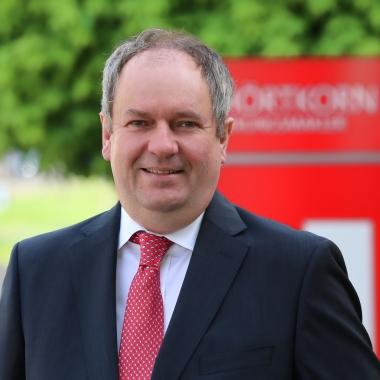 Christian Hörtkorn, Geschäftsführender Gesellschafter, leitet seit 1994 die Dr. Hörtkorn Unternehmensgruppe in zweiter Generation