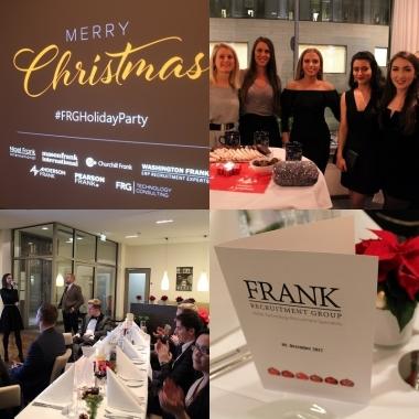 Weihnachten 2017 - das Berliner Office der FRG feierte im John F Arcotel in Berlin Mitte und ließ ein erfolgreiches Jahr 2017 Revue passieren.