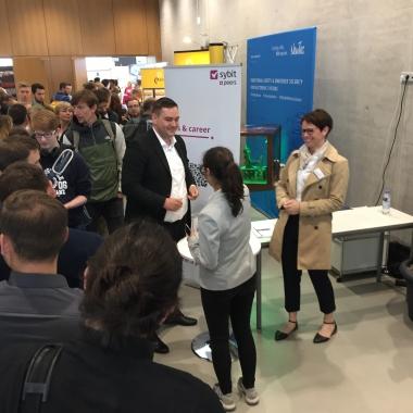 Für unsere Zukunft unternehmen wir viel: Sybit & Peers @ HTWG Connect 2018 in Konstanz - Verlosung Hauptgewinn Stand-up Paddle!