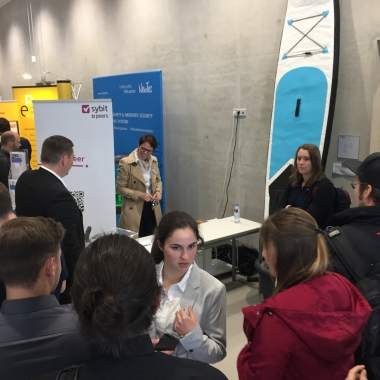 Für unsere Zukunft unternehmen wir viel: Sybit & Peers @ HTWG Connect 2018 in Konstanz!