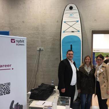 Für unsere Zukunft unternehmen wir viel: Sybit & Peers @ HTWG Connect 2018 in Konstanz - Preisverleihung!