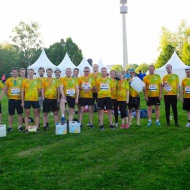 Das itemis-B2Run-Team in Dortmund 2018