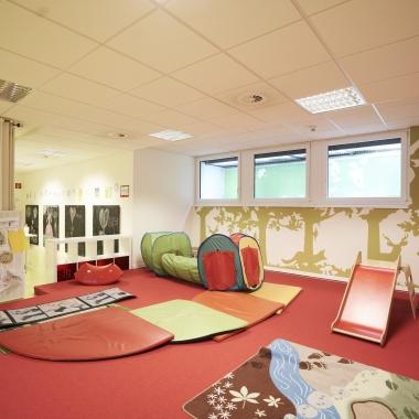 Die Kindernotfall-Betreuung am Standort Bielefeld
