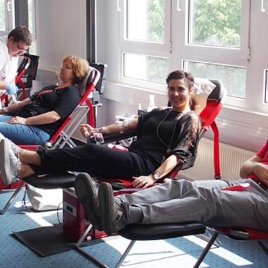 Erfolgreicher Blutspendetag 2018 bei SHD!