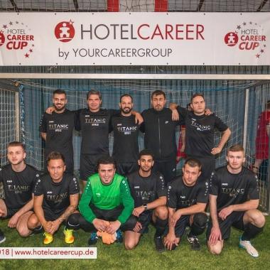 TITANIC Kickers beim Hotelcareer Fußballcup 2018