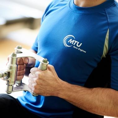 Im Gesundheitsstudio auf dem Münchner Werksgelände können unsere Mitarbeiter ihren Arbeitstag auch gleich mit Bewegung und körperlichem Ausgleich verbinden.