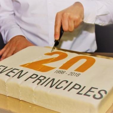 Jubiläum bei SEVEN PRINCIPLES