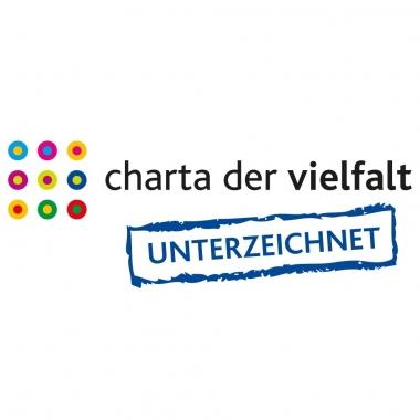 Wir sind stolz darauf, als Unterzeichner der Charta der Vielfalt die Diversität voranzutreiben.