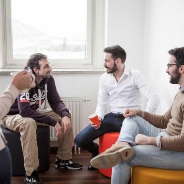 Teambuilding beim gemütlichen Kaffee zwischendurch