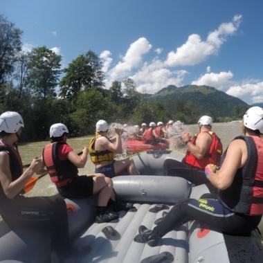 Mount Rafting - Sommerfest in Ising 2017