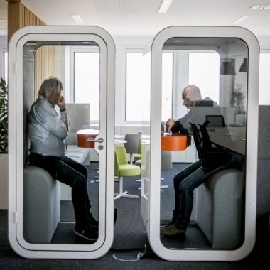 Telefonzellen im Büro