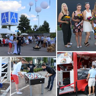 Mitarbeiter Sommerfest zum 20jährigen Jubiläum