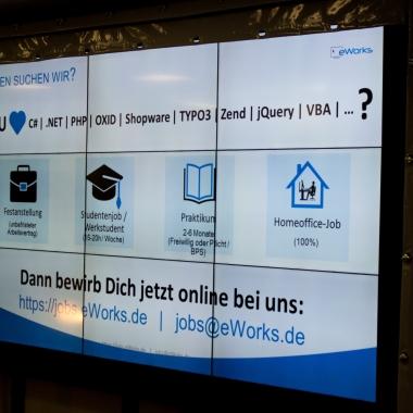 eWorks - Auf der IT-Jobmesse in Frankfurt am Main => Auf der Suche nach *Dir*?