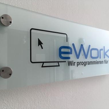 eWorks - Hier geht's rein zu uns! - Inzwischen funktioniert sogar unsere Klingel...