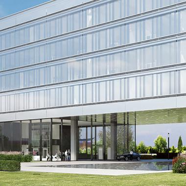 Die MHK-Zentrale in Dreieich bei Frankfurt. Zu unserer Unternehmensgruppe gehören bekannte Marken wie musterhaus küchen und REDDY sowie spezialisierte Dienstleistungsunternehmen.