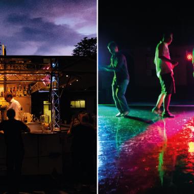 Sommerfest 2018: Feiern bis tief in die Nacht.