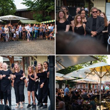 Sommerfest 2018 auf der Galopprennbahn in Dresden inkl. Auftritt des Young ClassX Chors
