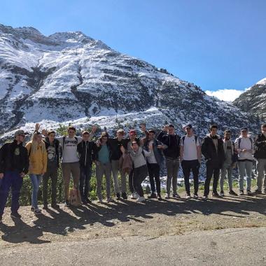 Lernenden-Lager im büdnerischen Sedrun