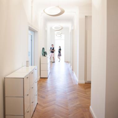 Unser Office im zweiten Stock in München