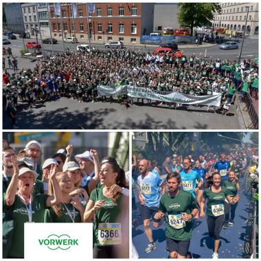 Jedes Jahr nimmt Vorwerk mit einer großen Läufertruppe beim Firmenlauf in Wuppertal teil