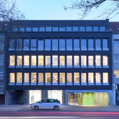 Unser Gebäude am Maarweg in Köln