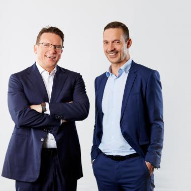 Die Geschäftsführung der EBF, Marco Föllmer und Markus Adolph
