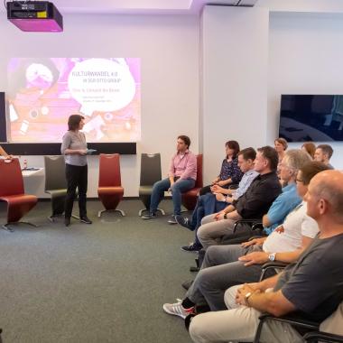 """Die """"Agile Saxony""""-Community zu Gast bei OSP zum Thema: """"Kulturwandel in der Otto Group"""""""