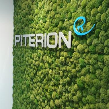 Unsere neue Mooswand im Münchner Büro