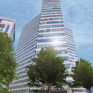 Unser Büro befindet sich im Emporio-Tower