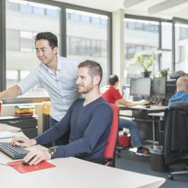Mit- und voneinander lernen bringt uns und unser Unternehmen weiter